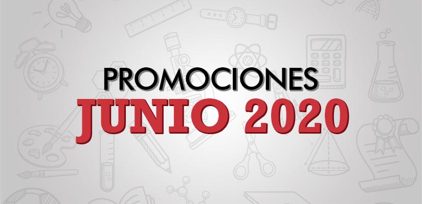 PROMOCIONES JUNIO 2020